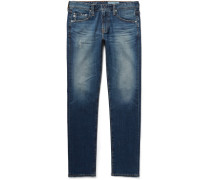 Dylan Skinny-fit Distressed Denim Jeans