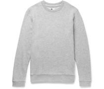 Luke Loopback Wool-blend Jersey Sweatshirt
