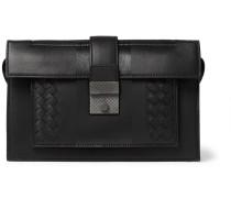 Intrecciato Leather Pouch