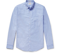 Slim-fit Button-down Collar Pima Cotton Oxford Shirt