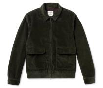 Cotton-corduroy Bomber Jacket