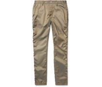 Adventurer Slim-fit Cotton-blend Twill Trousers