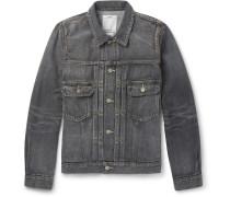 Social Sculpture 101 Washed Selvedge Denim Jacket