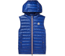 Gien Quilted Shell Hooded Down Gilet