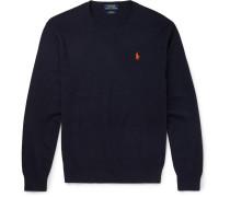Slim-fit Pima Cotton Sweater