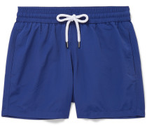Slim-Fit Short-Length Swim Shorts