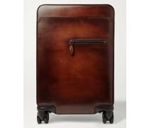 Formula 1004 Venezia Leather Carry-On Suitcase