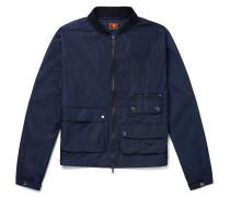 Cotton-shell Bomber Jacket