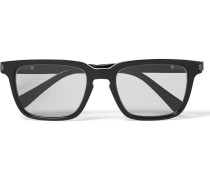 Square-frame Acetate Photochromic Sunglasses