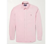 Slim-Fit Button-Down Collar Cotton Oxford Shirt