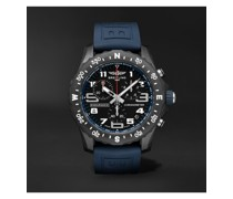 Endurance Pro SuperQuartz Chronograph 44mm Breitlight and Rubber Watch, Ref. No. X82310D51B1S1