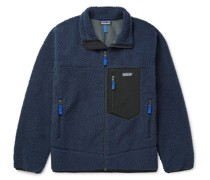 Classic Retro-X Shell-Trimmed Fleece Jacket