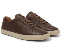 Freetime Full-grain Leather Sneakers