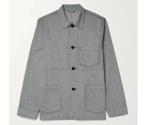 Pinstriped Cotton Jacket