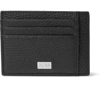 Crosstown Full-Grain Leather Cardholder