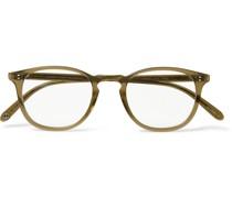 Kinney D-Frame Acetate Optical Glasses