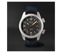 Argonaut Automatic 42mm Stainless Steel and Sailcloth Watch, Ref. ARGONAUT-R-S
