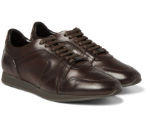 Panelled Leather Sneakers