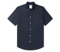 Michael Button-Down Organic Cotton Oxford Shirt