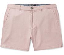 Jax Slim-Fit Cotton and Linen-Blend Shorts
