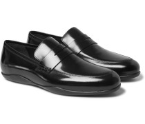Downing 2 Polished-leather Loafers