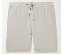 Seb Linen Drawstring Shorts