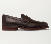 City Life Full-Grain Leather Loafers