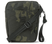 Cruz Camouflage-Print Sailcloth Messenger Bag