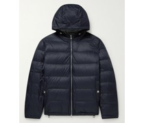 Oversized Quilted Shell Down Hooded Jacket