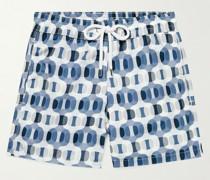 Ipanema Mid-Length Printed Swim Shorts