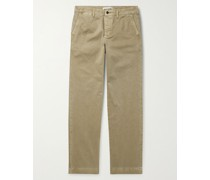 Fort Garment-Dyed Organic Cotton-Twill Chinos