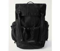 Obsten Webbing-Trimmed Canvas Backpack