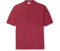 Linen and Cotton-Blend Polo Shirt