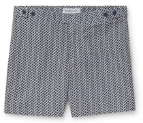 Beam Mid-Length Printed Swim Shorts