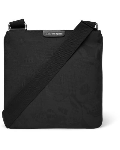Verkauf Offizielle Seite Alexander McQueen Herren Leather-trimmed Jacquard Messenger Bag Spielraum Footlocker Bilder Billig 100% Original PSwMZqHt