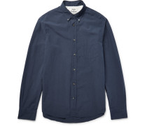 Isherwood Slim-fit Button-down Collar Cotton-poplin Shirt