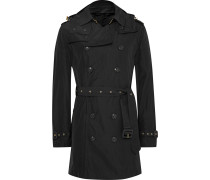 London Hooded Waterproof Shell Trench Coat