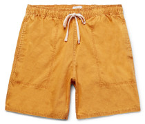 Ritchie Mineral-washed Cotton Shorts