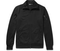 Slim-fit Jersey Zip-up Sweatshirt