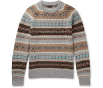 Alta Fair Isle Wool Sweater