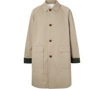 Oversized Cotton-gabardine Coat