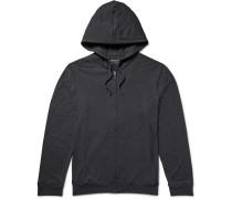 Marlowe Stretch Micro Modal Jersey Zip-up Hoodie