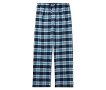 Checked Brushed Cotton-Flannel Pyjama Trousers