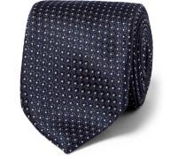 8.5cm Polka-dot Silk Tie