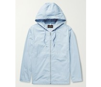 Cotton and Nylon-Blend Hooded Jacket