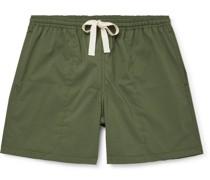 Holiday Cotton-Ripstop Drawstring Shorts