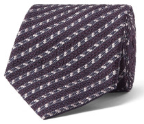 8cm Striped Silk-blend Tie