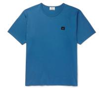 Niagara Appliquéd Cotton-jersey T-shirt