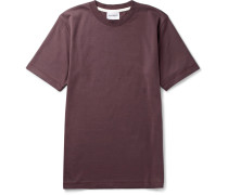 James Mercerised Cotton-jersey T-shirt