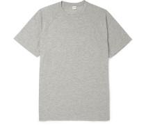Slim-fit Cotton-blend Jersey T-shirt